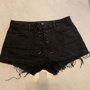 Black PAIGE shorts